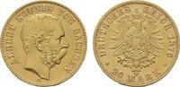20 Mark 1876 E. Sachsen Albert, 1873-1902. Sehr schön - Vorzüglich  520,00 EUR kostenloser Versand