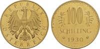 100 Schilling 1930. REPUBLIK ÖSTERREICH  Von polierten Stempeln. Vorzüg... 990,00 EUR kostenloser Versand