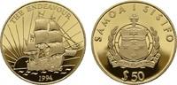 50 Dollars 1994. S - San Francisco. SAMOA ISLANDS  Polierte Platte  180,00 EUR  zzgl. 4,50 EUR Versand