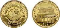 25 Dollars 2000. LIBERIA Republik. Polierte Platte  49,00 EUR  zzgl. 4,50 EUR Versand