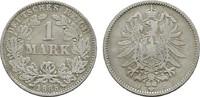 1 Mark 1885, J. Deutsches Reich  Fast Sehr schön  8,00 EUR  +  7,00 EUR shipping