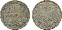 1 Mark 1905, J. Deutsches Reich  Sehr schön +  6,00 EUR  +  7,00 EUR shipping