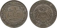 1 Pesa 1891. DEUTSCHE KOLONIEN  Fast Stempelglanz  60,00 EUR  +  7,00 EUR shipping