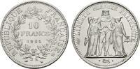 FRANKREICH 10 Francs 5. Republik, seit 1958.