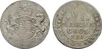 6 Mariengroschen (1/6 Taler) 1722, JJJ-Osnabrück. OSNABRÜCK Ernst Augus... 9219 руб 145,00 EUR  zzgl. 286 руб Versand