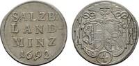 4 Kreuzer (Batzen) 1692 DIE GEISTLICHKEIT IN DEN HABSBURGISCHEN ERBLAND... 32,17 CHF  zzgl. 4,83 CHF Versand