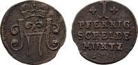 Pfennig 1731 SACHSEN Wilhelm Heinrich, 1729-1741. Sehr schön +  2225 руб 35,00 EUR  zzgl. 286 руб Versand