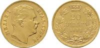 20 Dinara 1882, Wien. SERBIEN Milan IV. Obrenowitsch, 1868-1882-1889. V... 530,00 EUR kostenloser Versand