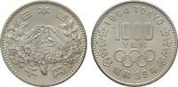 1.000 Yen 1964. JAPAN Hirohito, 1926-1989. Stempelglanz.  37,53 CHF  zzgl. 4,83 CHF Versand