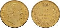 10 Dinara 1882, Wien. SERBIEN Milan IV. Obrenowitsch, 1868-1882-1889. V... 260,00 EUR  zzgl. 4,50 EUR Versand