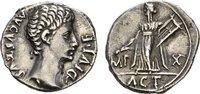 AR-Denar (14 v. Chr.), Lugdunum. RÖMISCHE KAISERZEIT Augustus, 30 v.-14... 60399 руб 950,00 EUR kostenloser Versand