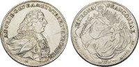 Konv.-Taler 1765. WÜRZBURG Adam Friedrich ...