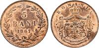 5 Bani 1867, Heaton. RUMÄNIEN Karl I., 1866-1914. Feinste Erhaltung. PL... 12716 руб 200,00 EUR  zzgl. 286 руб Versand