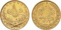 TÜRKEI 100 Piaster Mohammed V., 1909-1918.
