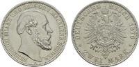 2 Mark 1876, A. Mecklenburg-Schwerin Friedrich Franz II., 1842-1883. Fa... 1383,40 CHF kostenloser Versand