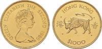 HONG KONG 1.000 Dollars Elizabeth II, 1952-1997.