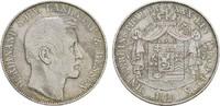 Vereinstaler 1861, Darmstadt. HESSEN Ferdinand, 1848-1866. Sehr schön +.  209,12 CHF  zzgl. 4,83 CHF Versand
