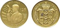 25 Dollars (1/25 Unze) 1994. NIUE Elizabeth II. seit 1952. Polierte Pla... 3497 руб 55,00 EUR  zzgl. 286 руб Versand