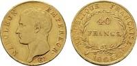 40 Francs 1806, U-Turin. ITALIEN Napoleon, 1805-1814. Fast vorzüglich  ... 56584 руб 890,00 EUR kostenloser Versand