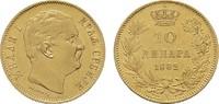 10 Dinara 1882; Wien. SERBIEN Milan IV. Obrenowitsch, 1868-1882-1889. V... 257,38 CHF  zzgl. 4,83 CHF Versand