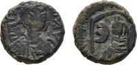Æ-Pentanummion Konstantinopel. BYZANZ Justinus I., 518-527. Sehr schön  53,62 CHF  zzgl. 4,83 CHF Versand