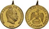 Bronzemedaille 1871. KAISERREICH Wilhelm I., 1861-1888. Kl. Flecken. Fa... 5404 руб 85,00 EUR  zzgl. 286 руб Versand