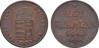 10 Krajczár 1848. KAISERREICH ÖSTERREICH Revolution in Ungarn, 1848-184... 107,24 CHF  zzgl. 4,83 CHF Versand