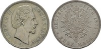 5 Mark 1874, D. Bayern Ludwig II., 1864-1886. Hübsche Pastina. Fast Vor... 145,00 EUR  +  7,00 EUR shipping
