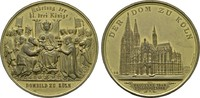 Vergoldete Bronzemedaille 1880 (v. Drentwett). KÖLN  Vorzüglich -Stempe... 75,00 EUR  zzgl. 4,50 EUR Versand