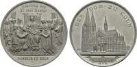 Zinnmedaille 1880 (v. Drentwett). KÖLN  Vorzüglich +  2543 руб 40,00 EUR  zzgl. 286 руб Versand