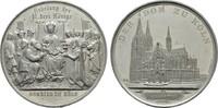 Versilberte Zinnmedaille 1880 (v. Drentwett). KÖLN  Fast Stempelglanz  60,00 EUR  zzgl. 4,50 EUR Versand