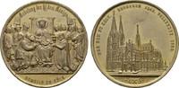 Vergoldete Bronzemedaille 1880 (v. Drentwett). KÖLN  Vorzüglich +  80,00 EUR  zzgl. 4,50 EUR Versand