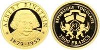 1500 Francs Gold 2005 Togo Republik. Togo Polierte Platte  65,00 EUR  zzgl. 4,00 EUR Versand