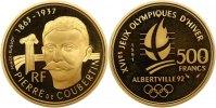 500 Francs 1991 Frankreich Republik 1940-2100. Polierte Platte  595,00 EUR kostenloser Versand