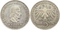 5 Mark 1955  F Münzen der Bundesrepublik Deutschland Mark 1945-2001. Se... 195,00 EUR  zzgl. 4,00 EUR Versand