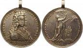 Silbermedaille 1699 Nürnberg-Stadt  Am Henkel, Felder geglättet, sehr s... 225,00 EUR  +  4,00 EUR shipping