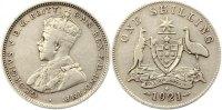 Shilling 1921 Australien George V. 1910 - 1936. Fast sehr schön  75,00 EUR  +  4,00 EUR shipping