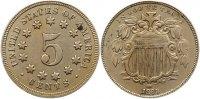 5 Cent 1869 Vereinigte Staaten von Amerika  Sehr schön  95,00 EUR  +  4,00 EUR shipping