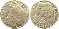 Sachsen-Eisenach 2/3 Taler Johann Georg II. 1686-1698.
