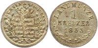 Sachsen-Meiningen Kreuzer Bernhard Erich Freund 1803-1866.