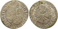 Schlesien-Württemberg/Öls 3 Kreuzer Sylvius Friedrich 1664-1697.