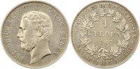 Gulden 1867 Baden-Durlach Friedrich I. 1852-1907. Winz. Kratzer, fast v... 345,00 EUR Gratis verzending