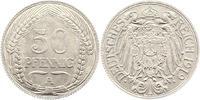 Kaiserreich Reichskleinmünzen.   50 Pfennig Probe 1