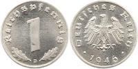 1 Pfennig Probe 1946  D Alliierte Besetzung  Prägefrisch  975,00 EUR kostenloser Versand