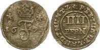 Braunschweig-Calenberg-Hannover 4 Pfennig Johann Friedrich 1665-1679.