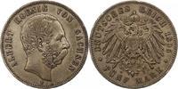 5 Mark 1895  E Sachsen Albert 1873-1902. Sehr schön  60,00 EUR  Excl. 4,00 EUR Verzending