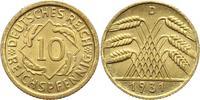 10 Pfennig 1931  D Weimarer Republik  Fast Stempelglanz  125,00 EUR  +  4,00 EUR shipping
