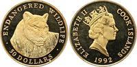 50 Dollar Gold 1992 Cook-Inseln Elizabeth II. Seit 1952. Polierte Platt... 185,00 EUR  zzgl. 4,00 EUR Versand