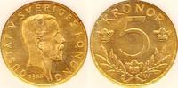 Schweden 5 Kronen Gustaf V. 1907-1950.