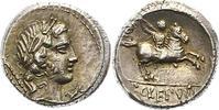 Denar  Republik P. Crepusius 82 v. Chr.. Schöne Patina. Vorzüglich +  425,00 EUR free shipping